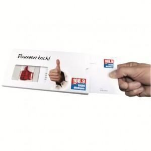 Letter-Plus-Briefbeilage-Streuartikel