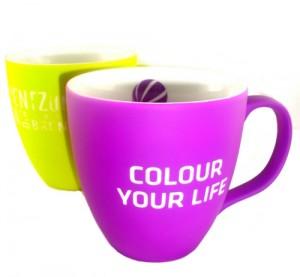 Soft-Touch Tassen - Werbetassen